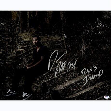 Darrelle Revis Pose Signed 16x20 Photo Revis Island Insc (PSA/DNA Auth)