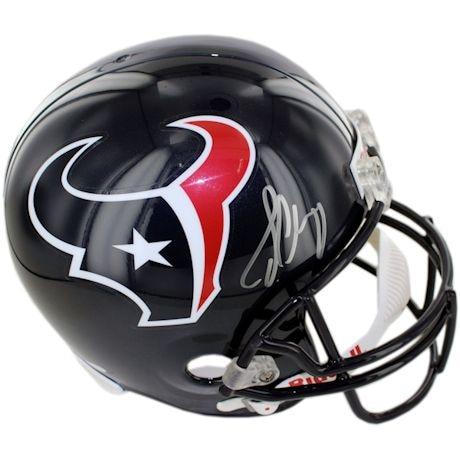Jadeveon Clowney Signed Houston Texans Replica Helmet