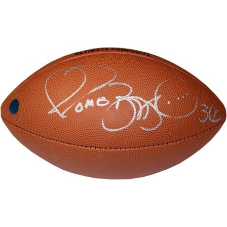 Jerome Bettis Signed NFL Wilson Composite Football - Pittsburgh Steelers (AJ Sports Auth)