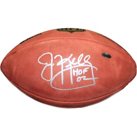 Jim Kelly Signed NFL Duke Football w/ HOF Insc