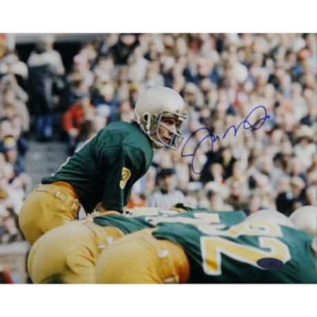 Joe Montana Notre Dame at Line Horizontal 8x10 Photo