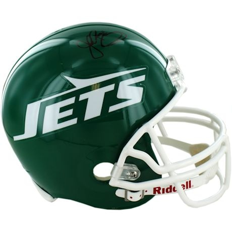 John Riggins Signed New York Jets Replica Green Throwback 78-89 Helmet