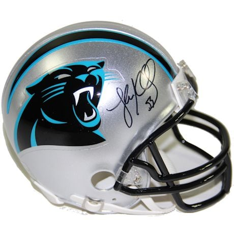 Luke Kuechly Signed Carolina Panthers Mini Helmet (JSA Auth)