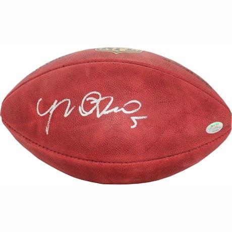 Manti Te'o Signed NFL Duke Football (Te'o Holo Only)