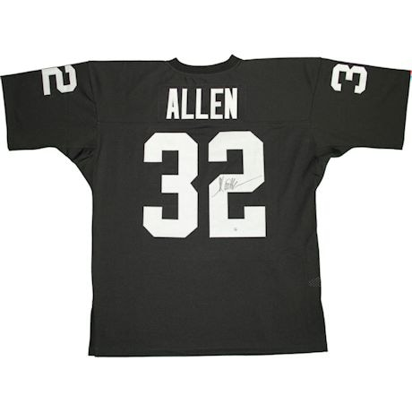 Marcus Allen Signed Raiders 1983 Mitchell & Ness Authentic Jersey (XL)