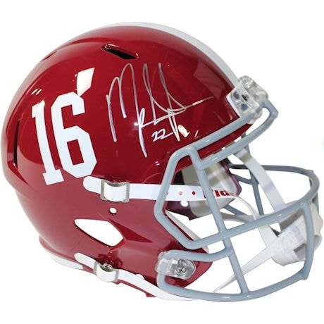 Mark Ingram Signed University of Alabama Speed Replica Helmet