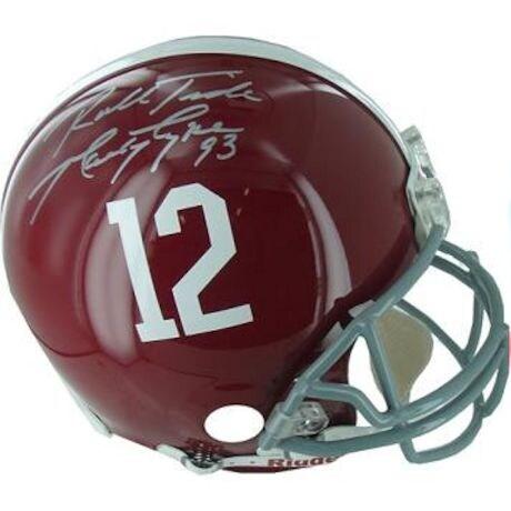 "Marty Lyons Alabama Fullsize Helmet w/ ""Roll Tide"" Insc."
