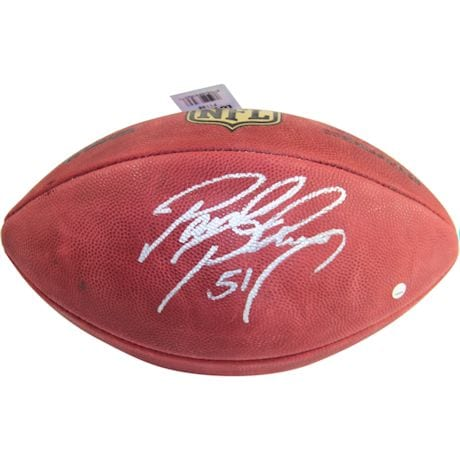 Paul Posluszny Signed NFL Duke Football