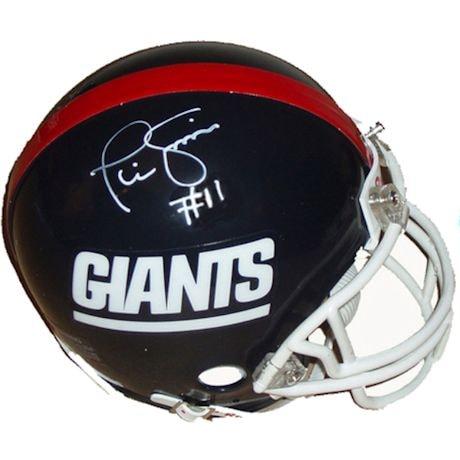 Phil Simms Giants T/B Replica Mini Helmet