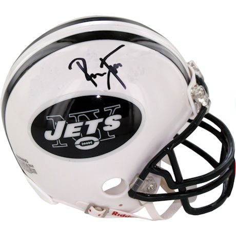 Ronnie Lott Signed New York Jets Mini Helmet
