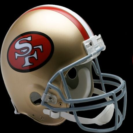 San Francisco 49ers VSR4 Authentic Throwback (64-95) Helmet (30233)