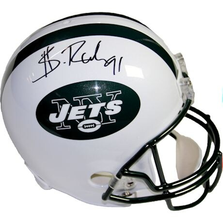 Sheldon Richardson Signed New York Jets Replica Helmet