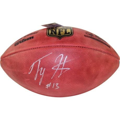 T.Y. Hilton Signed NFL Duke Football