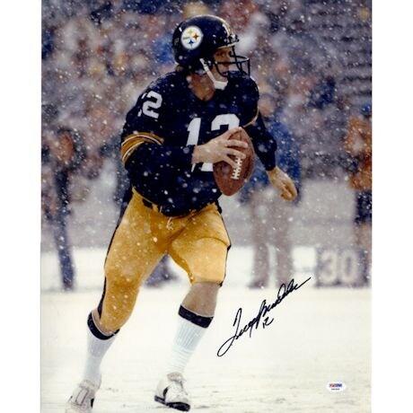 "Terry Bradshaw Signed ""Snow"" 16x20 Photo (PSA)"