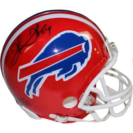 Thurman Thomas Signed Buffalo Bills Red Mini Helmet