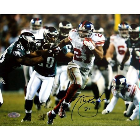 Tiki Barber Last Playoff Game 16x20