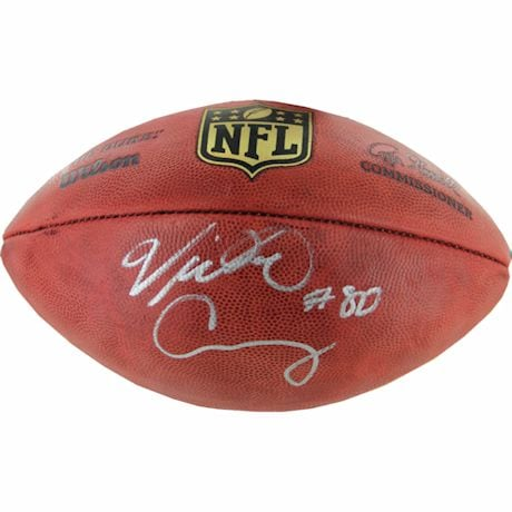 Victor Cruz Autographed NFL Duke Football