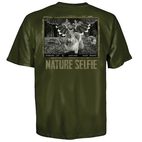 Nature Selfie Hawk Tee