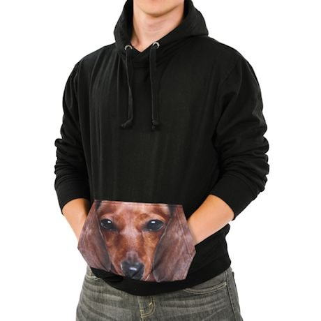 Dachshund Sublimated Pocket Hoodie