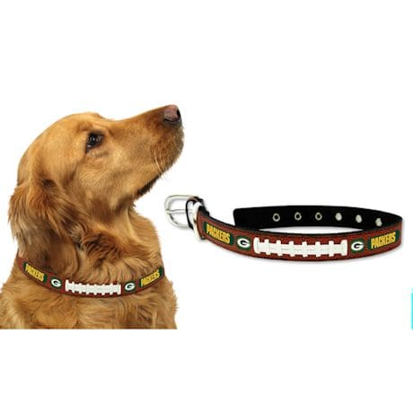 NFL Leather Football Pet Collar