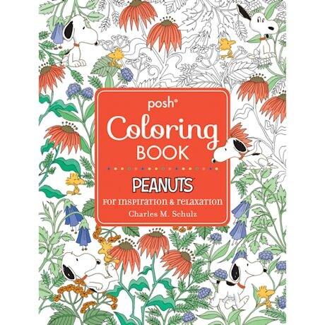 Adult Peanuts Coloring Book