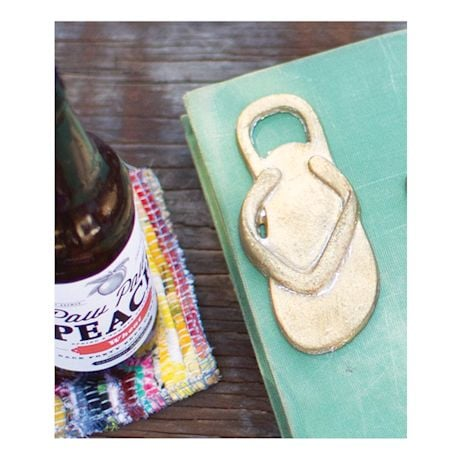 Cast Iron Flip Flop Bottle Opener