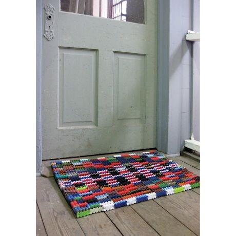 Reclaimed Flip-Flop Doormat