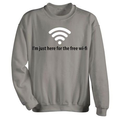 Free Wi-Fi T-Shirt