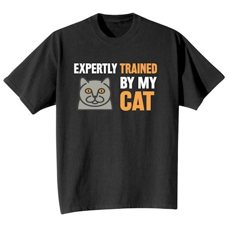 Expertly Trained Shirts - Cat