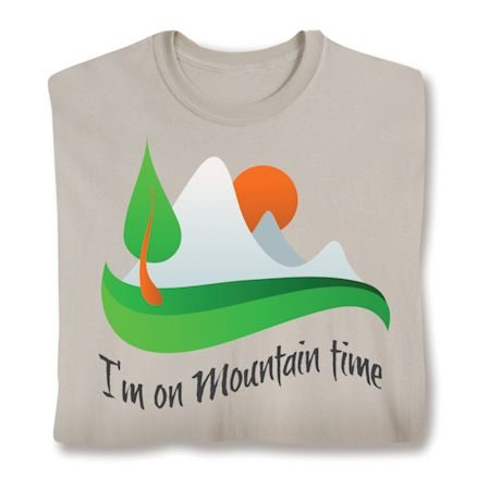 Vacation Time Shirts - Mountain