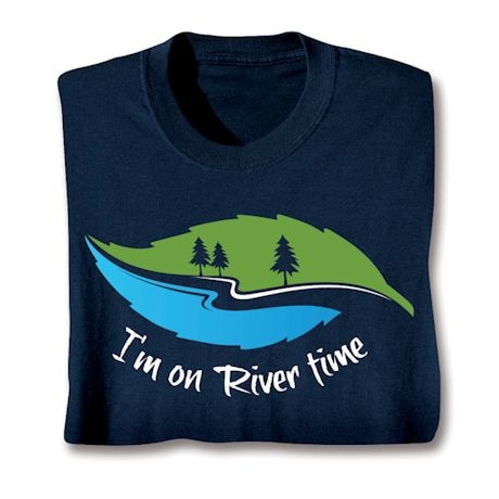 Vacation Time Shirts - River