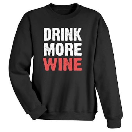 Only Three Words Shirts - Wine