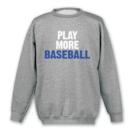 Only Three Words Shirts - Baseball