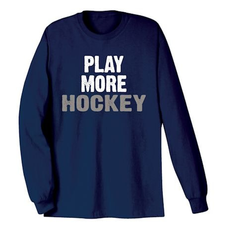 Only Three Words Shirts - Hockey