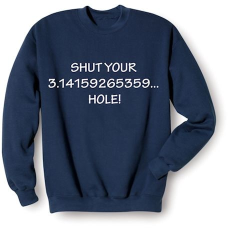 Shut Your Math Shirts