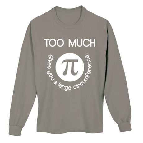 Too Much Math Shirts