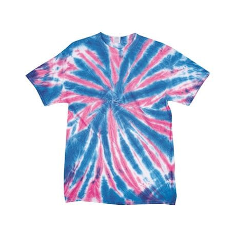 Glow-In-The-Dark Tie Dye Tees