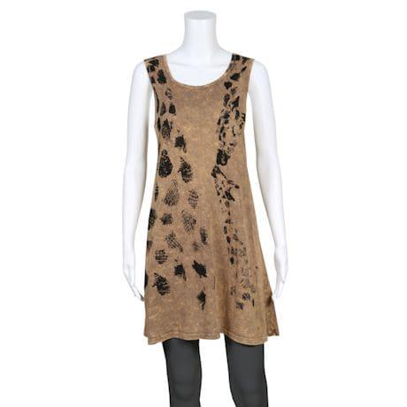 Mineral Wash Dresses - Giraffe
