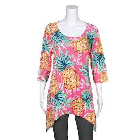 Summer Fruit Tunics- Pineapple