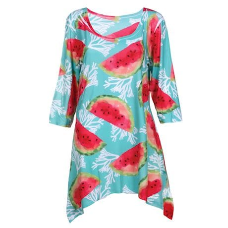 Summer Fruit Tunics-Watermelon