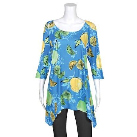 Summer Fruit Tunics- Lemon/Limes