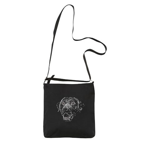 Rhinestone Dog Breed Crossbody Bags