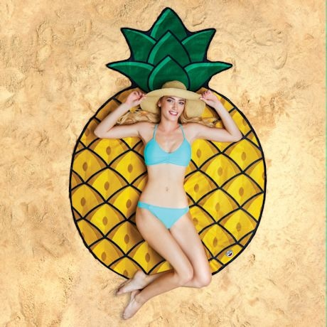 Gigantic Fruit Beach Towels - Pineapple