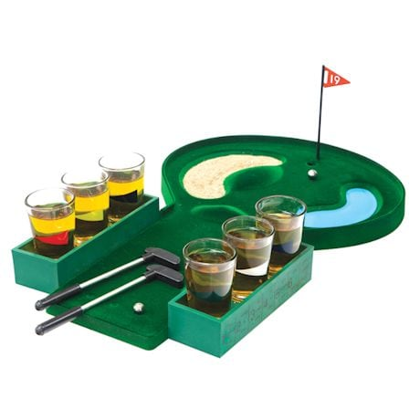 Golf Shot Glass Game