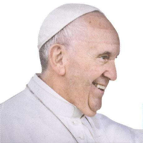 Ride With The Pope Car Decal