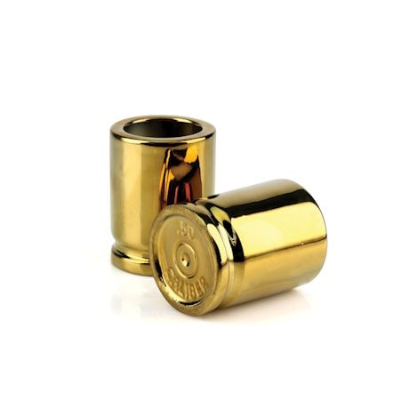 50 Caliber Shot Glasses (Set Of 2)