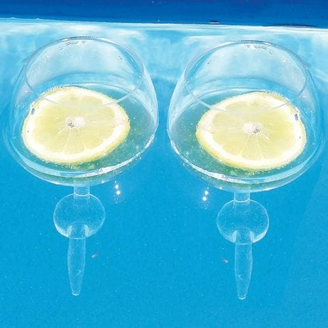 Floating Beach Glasses - Crystal Clear
