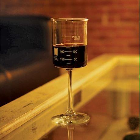 Periodic Glassware Beaker Collection - Single Wine Glass
