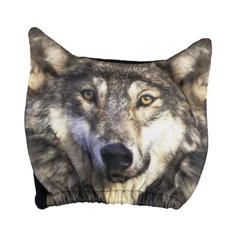 Wolf Headrest Covers