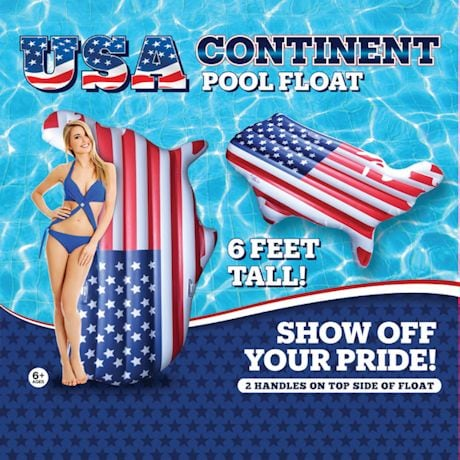 USA Continent Pool Float